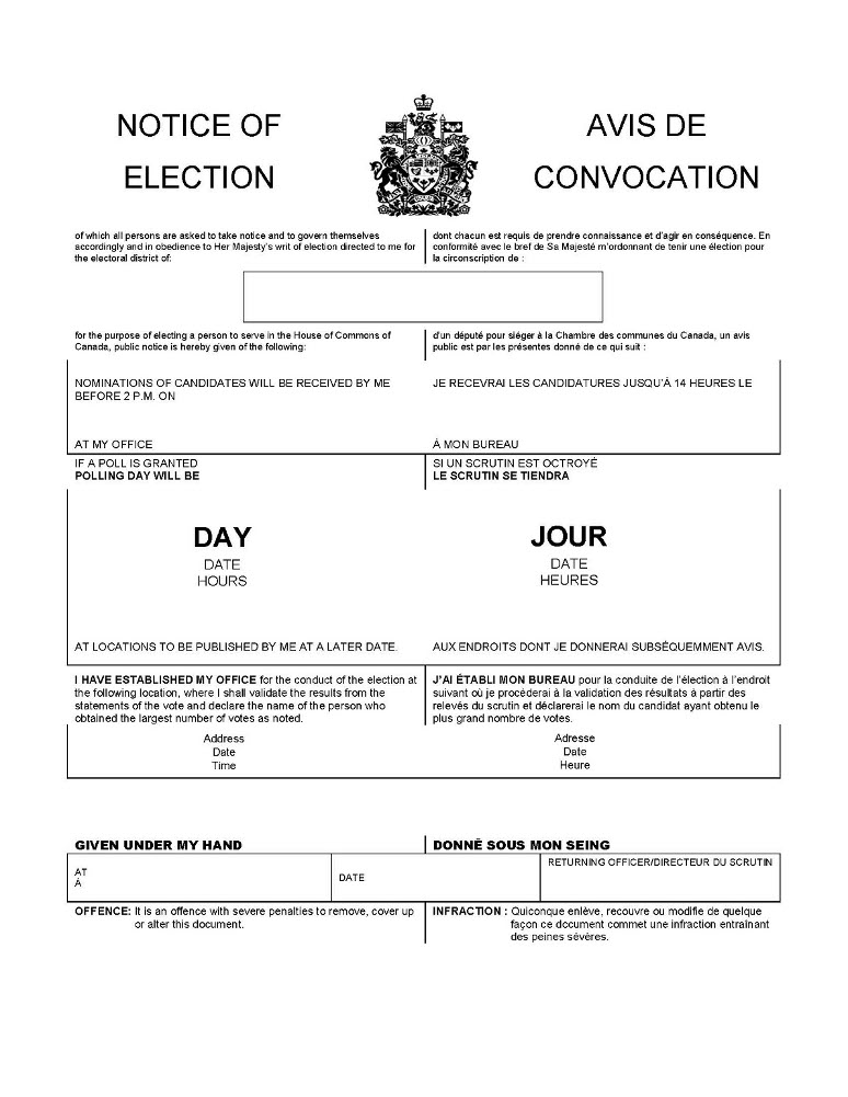 Canada Elections Act
